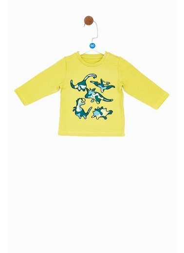 BG Baby Erkek Bebek Yeşil T-Shirt Yeşil